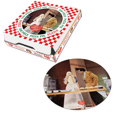 Cheap USAOPOLY I Love Lucy Visitor from Italy Collector's Jigsaw Puzzle 550pc (B000FP30MU)