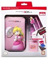 Pack d'accessoires pour Nintendo 3DSXL - Peach