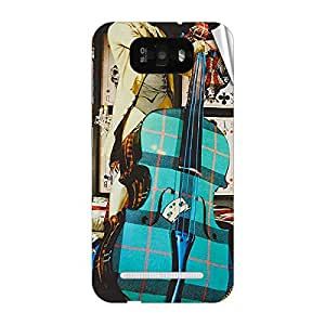 Garmor Designer Mobile Skin Sticker For Gionee P3 - Mobile Sticker