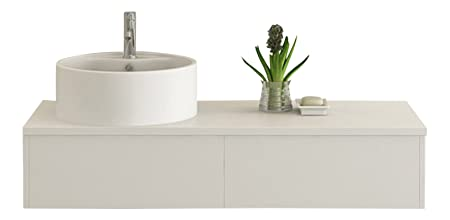Bath furniture Biel white