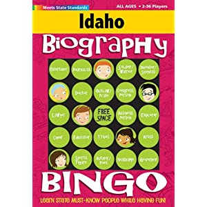 Idaho Bingo: Biography Edition Carole Marsh