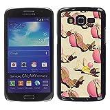 Slim Design Hard PCAluminum Shell Case Cover for Samsung Galaxy Grand 2 SM G7102 SM G7105 Lines Black Velvet Fabric Fashion JUSTGO PHONE PROTECTOR