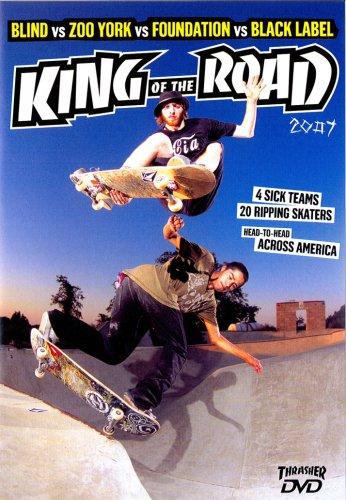 【スケートボード DVD】 KING OF THE ROAD 2007 (BLIND VS ZOO YORK VS FOUNDATION VS BLACK LABEL)(キング・オブ・ザ・ロード) 輸入版 [DVD]