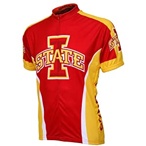 Iowa State Cyclones NCAA Road Cycling Jersey (X-Large)