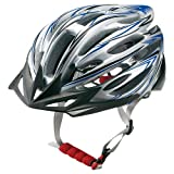 ティゴラ(TIGORA) 自転車用 ヘルメット シルバーXブルー M/L
