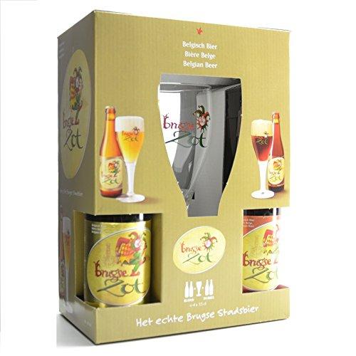 4-flaschen-brugse-zot-33-cl-glas-belgisches-bier-geschenk-probier-paket-craft-beer