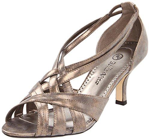 Bella Vita Women'S Lattice Ii Sandal,Bronze,9.5 M Us
