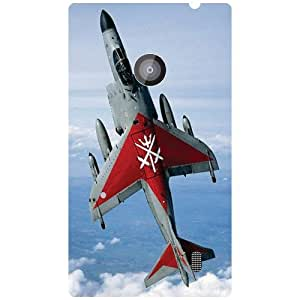 Nokia Lumia 520 Back Cover - Fighter Jet Designer Cases