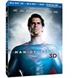 Man of Steel 3D Blu-Ray Combo Pack