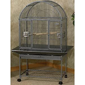 Kaytee EZ Care Dome Top Flight Cage for Small Birds