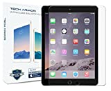 Tech Armor Apple iPad Air 2 / iPad Air (first generation) Premium Ballistic Glass Screen Protector - Protect Your Screen from Scratches and Drops - Maximize Your Resale Value - 99.99% Clarity and Touchscreen Accuracy