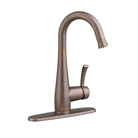 American Standard 4433.410.224 Quince Pull-Down Single Lever Handle Bar Faucet, Oil Rubbed Bronze