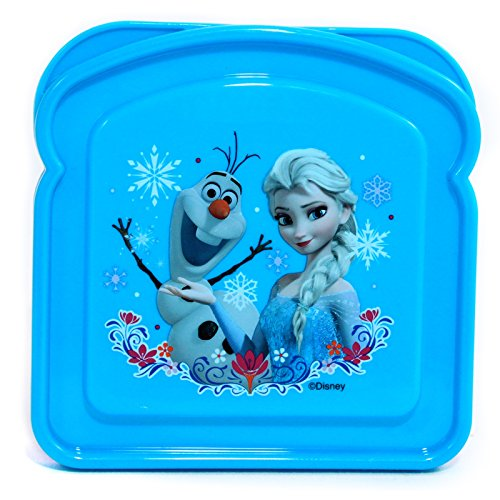 Disney Frozen Girls Lunch Storage Fresh Sandwich Container - 1