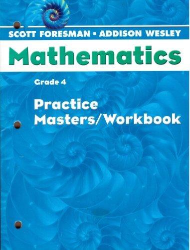 Mathematics Practice Masters, Workbook Grade 4