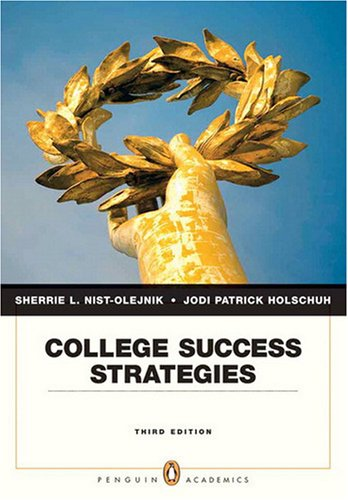 College Success Strategies (3rd Edition)