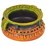 Tiger54 LLC Terracotta Bowl, Handmade, Great for Indoor & Outdoor Use