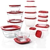 Rubbermaid 30 Piece Value Pack Mixed Easy Find Lid & Glass