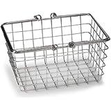 """Small Wire Basket - (Chrome) (6.75""""H x 4.75""""W x 9""""D)"""