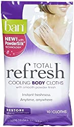 Ban Total Refresh Restore 10 Count (5 Pack)