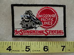 Missouri Pacific Lines Railroad Patch - The Sunshine Special