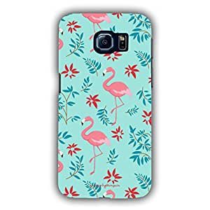 Designer Phone Covers - Samsung S6-flamingo