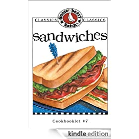 Sandwiches Cookbook: Gooseberry Patch Series, Book 7 (Classic Cookbooklets)