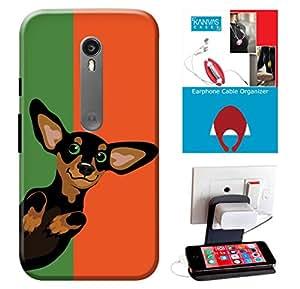 Kanvas Cases Case For Motorola Moto G3 (Matte Finish)