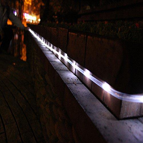 Awesome Tinnztes New White Feet Rope Tube Led Lights String Garden Light Battery Powered With Garden Light Strings