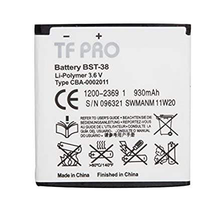 Tfpro-BST-38-930mAh-Battery-(For-Sony-Ericsscon)