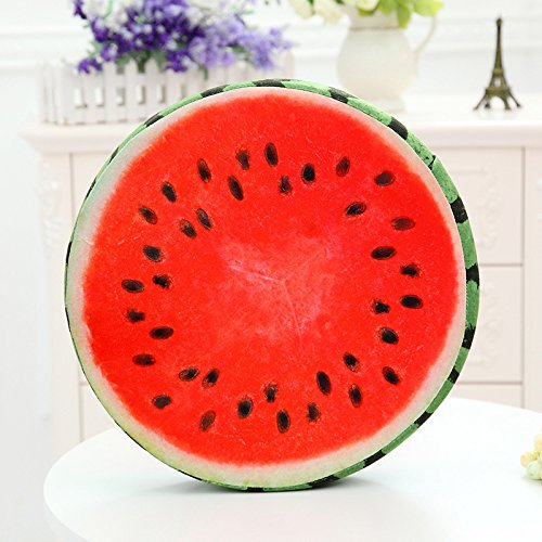 new-day-fruit-cushion-creative-3d-simulation-thickened-chair-round-watermelon-cushion-short-plush-f