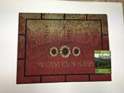 Bienvenido Crumb Rubber Welcome Mat by Mohawk Home ;PO#44T-KH/435 H25W3318512