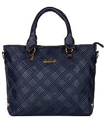 Calvino handbag CAL-81388_BLUE