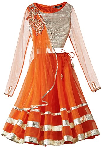 Maya Kidology In-House Collection By Maya Nocon Girl's Lehenga Set