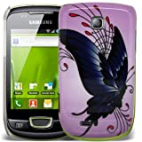 MOD SAMSUNG GT-S5570 GALAXY MINI LUXURY PRINTED CLIP ON HARD BACK CASE COVER POUCH SKIN + FREE SCREEN PROTECTOR