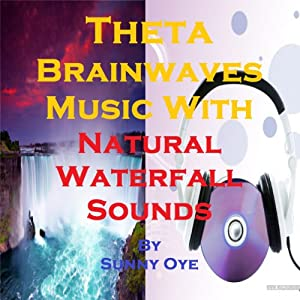 Theta Brainwaves Music Mixed with Natural Waterfall Sounds Speech