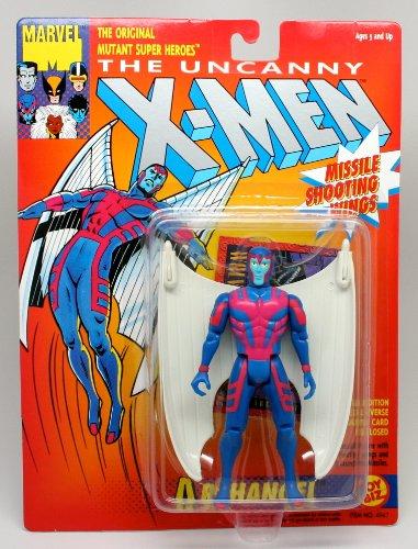 "Marvel The Uncanny X-Men ARCHANGEL (White Wings) 5"" Action Figure (1991 ToyBiz) - 1"