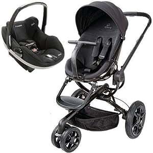 quinny mood stroller with prezi carseat black infant car seat stroller travel. Black Bedroom Furniture Sets. Home Design Ideas