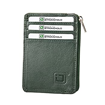 11. RFID Blocking Secure Mini Wallet