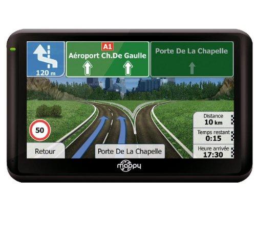 Mappy ULTI X555 Truck Europe GPS Eléments Dédiés à la Navigation Embarquée Fixe, 16:9
