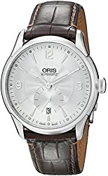 Oris Men's 623 7582 4071LS Artelier Small Second Date Watch