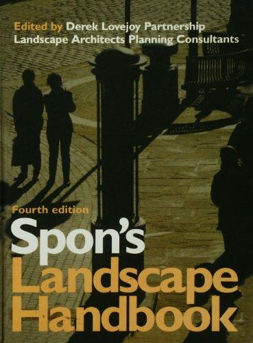 Derek Lovejoy Partnership - Spon's Landscape Handbook