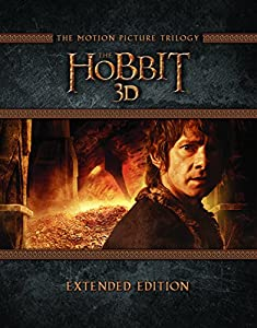 The Hobbit Trilogy - Extended Edition [Blu-ray 3D] [Region Free] [UK Import]