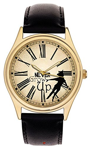 peter-pan-iconic-envejecido-reloj-arte-reloj-de-pulsera-never-grow-up-de-adultos
