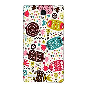 Jugaaduu Candy Love Back Cover Case For Redmi Note 4G