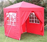2x2m Pop up Waterproof Gazebo with Sides