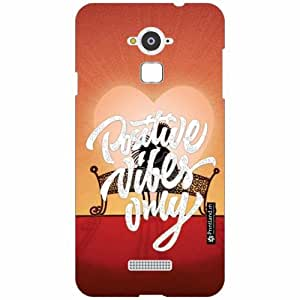 Coolpad Note 3 Back Cover - Silicon Positive Vibes Designer Cases