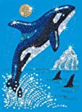 KSG Arts and Crafts Sequin Art and Beads 0830 Orca Picture Kit
