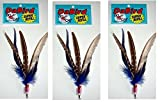GoCat DaBird SUPER Feather Refill, Assorted Colors, Pack of 3