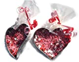 Valentine's Day Chocolate Filled Cookie Cutter 2 Pieces