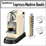 Nespresso D110-US-CW-NE CitiZ Automatic Single-Serve Espresso Maker, 60's White